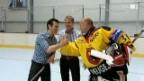 Video «Jann Billeter und die etwas andere «Eishockey-Wette»» abspielen