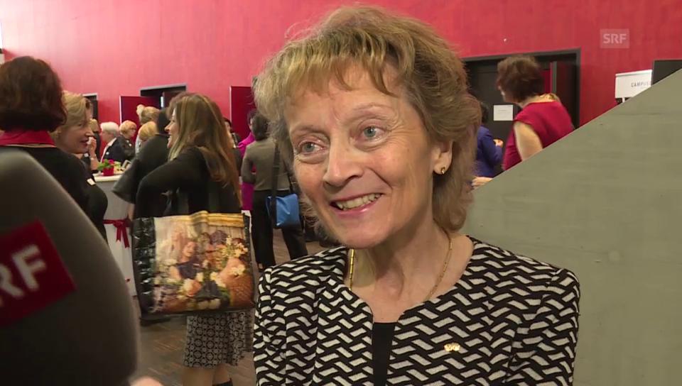 Eveline Widmer-Schlumpf über ihre Enkelkinder und Töchter