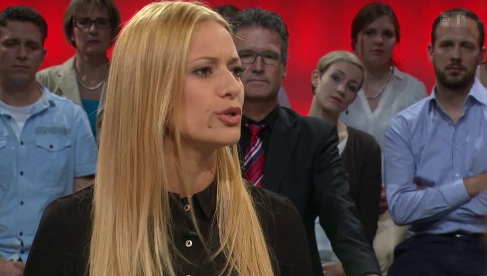 Christa Rigozzi setzt sich für die zweite Gotthard-Röhre ein