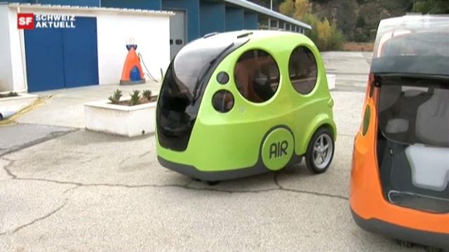 Luftdruckauto: Die neue Hoffnung des Berner Jura