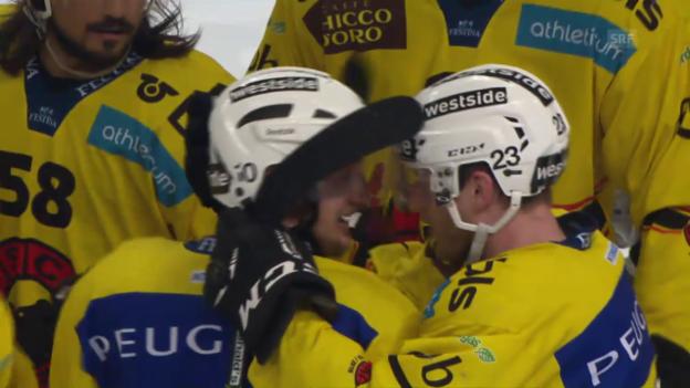 Video «Scherwey schiesst den SCB zum Final-Break» abspielen