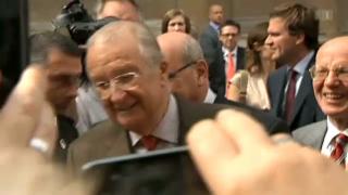 Video «Die letzten Arbeitstage des belgischen Königs: Albert II.» abspielen