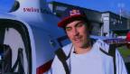 Video «Im Höhenflug: Freeskier Elias Ambühl wird Helikopterpilot» abspielen
