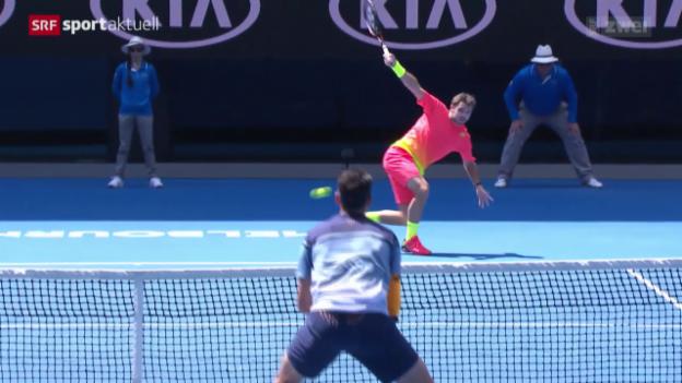 Video «Bilanz aus Schweizer Sicht an den Australian Open» abspielen