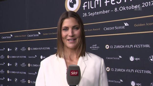 Video ««Glanz & Gloria» vom grünen Teppich des Zurich Film Festivals» abspielen