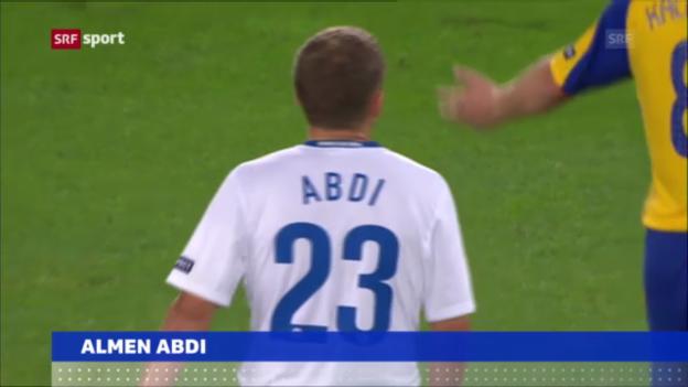 Video «Fussball: Almen Abdi bleibt bei Watford («sportaktuell»)» abspielen