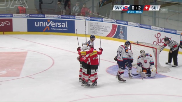 Video «Turniersieg für die Eishockeyaner in der Slowakei» abspielen