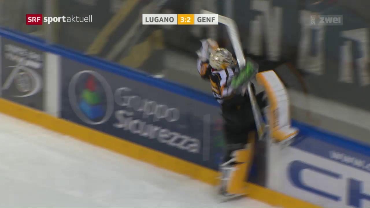 Lugano besiegt Servette knapp