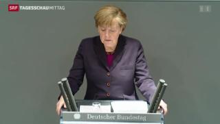 Video «Merkel kündigt weitere Sanktionen an» abspielen