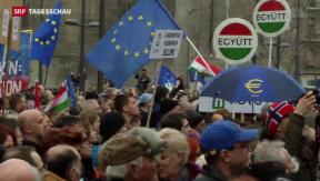 Video «Proteste gegen Orbán » abspielen