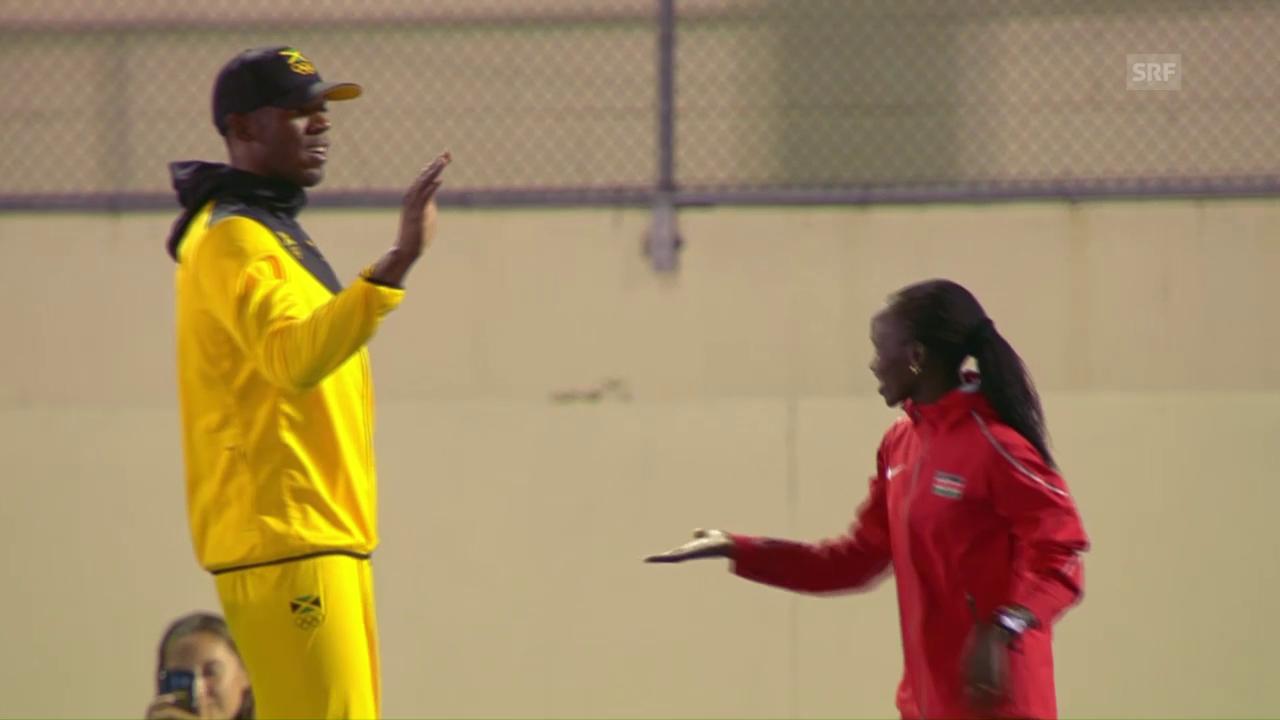 Olympia-Siegerin Cheruiyot: «Bolt ist mein Freund»