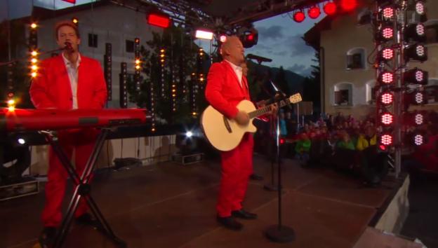 Video «Calimeros mit ihrem Medley» abspielen