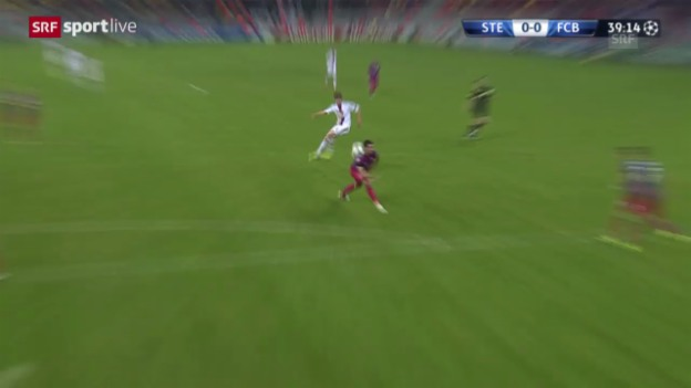 Video «Highlights Steaua - Basel («sportlive»)» abspielen