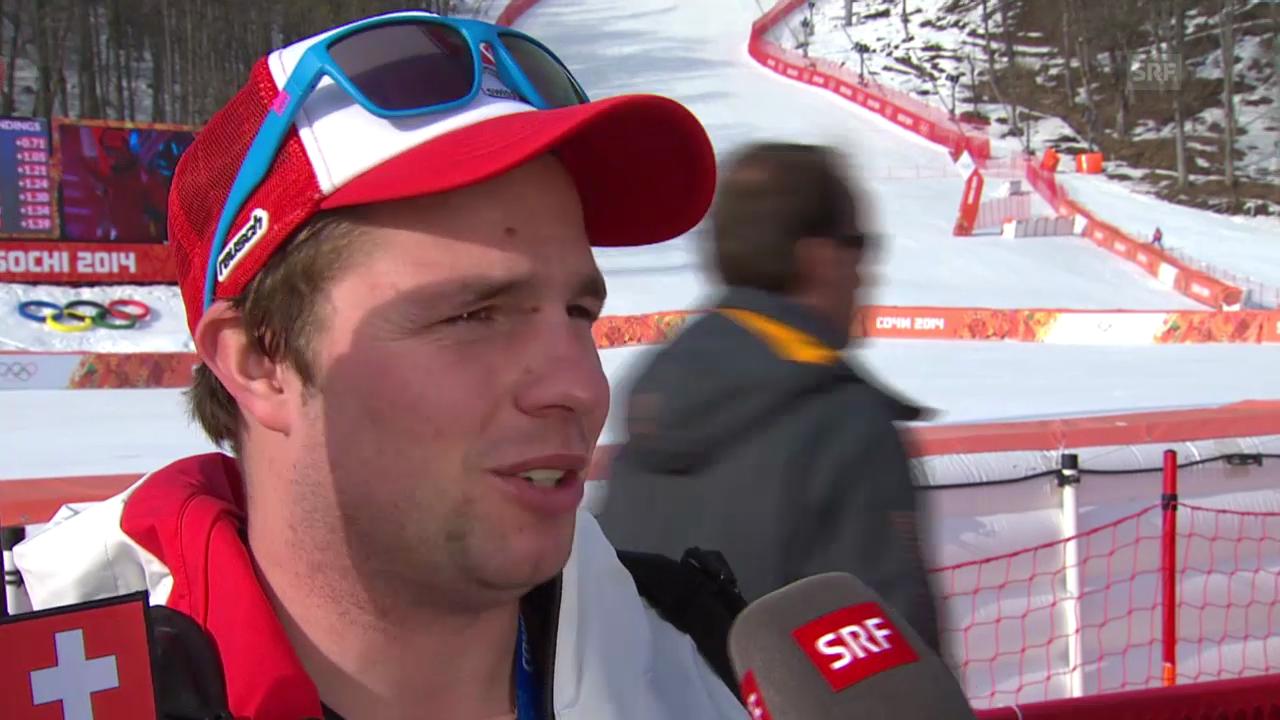 Ski, Super-G, Interview mit Beat Feuz (sotschi direkt, 16.02.14)