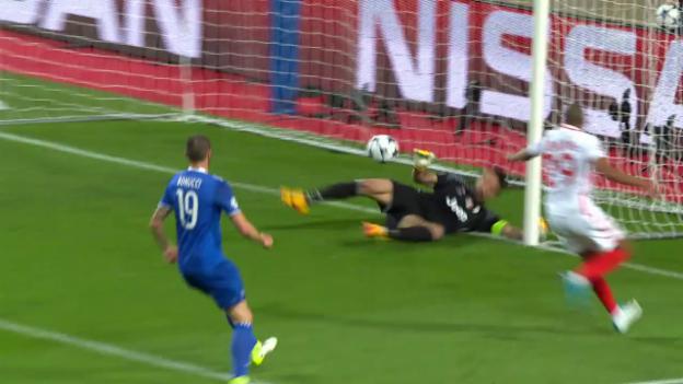 Video «Buffon rettet gegen Mbappé und verhindert den Rückstand» abspielen