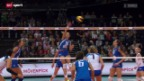 Video «Volleyball: EM-Viertelfinals» abspielen