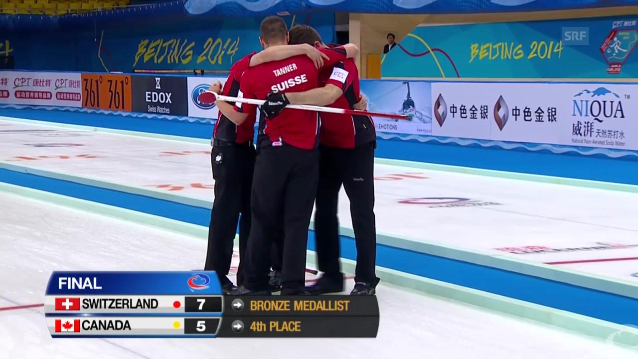 Curling-WM: SUI-CAN, die Entscheidung (06.04.2014)