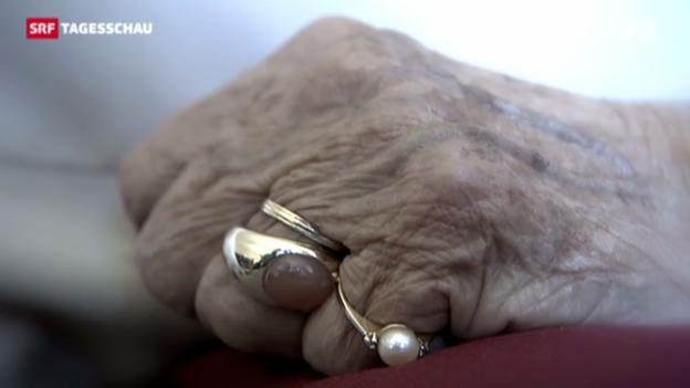 Video «Strassburg fordert Klärung der Sterbehilfe» abspielen