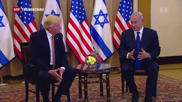 Video «Trump in Israel» abspielen