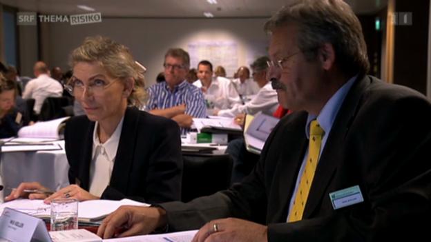 Video «Verwaltungsrat: Riskant – aber oft versichert» abspielen