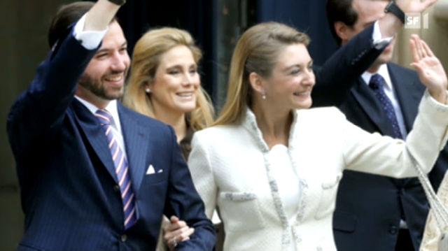 Der Prinz von Luxemburg heiratet