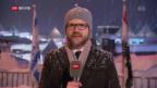 Video «Live-Schaltung zu Thomas von Grünigen und Peter Düggeli» abspielen
