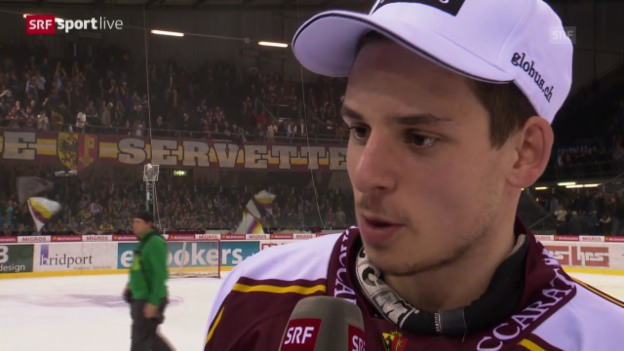 Video «Eishockey: Interview mit Noah Rod» abspielen