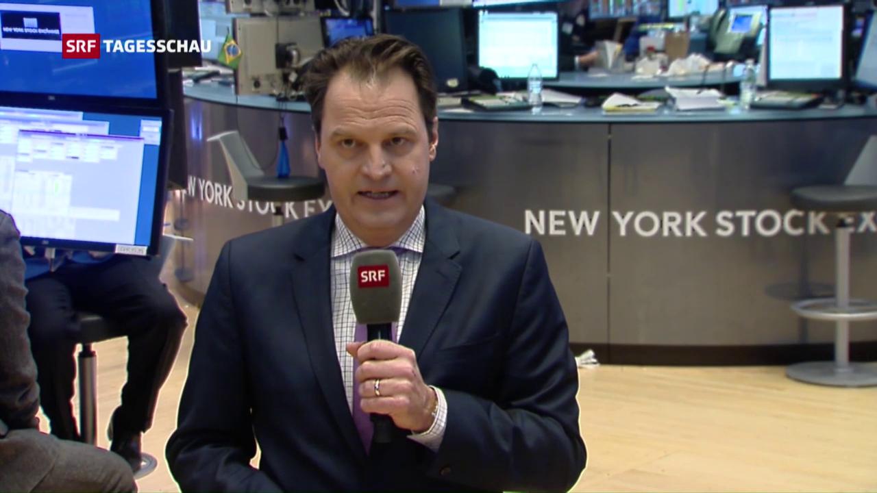 Reaktion an den Aktienbörsen