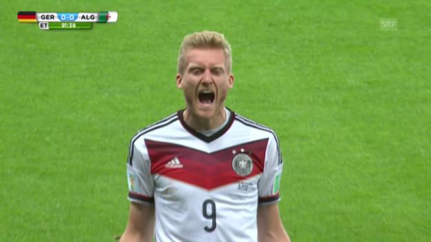 Video «FIFA WM 2014: Deutschland - Algerien: Die Live-Highlights» abspielen