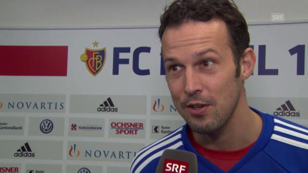 Video «Fussball: Der FC Basel vor dem Rückrundenstart» abspielen