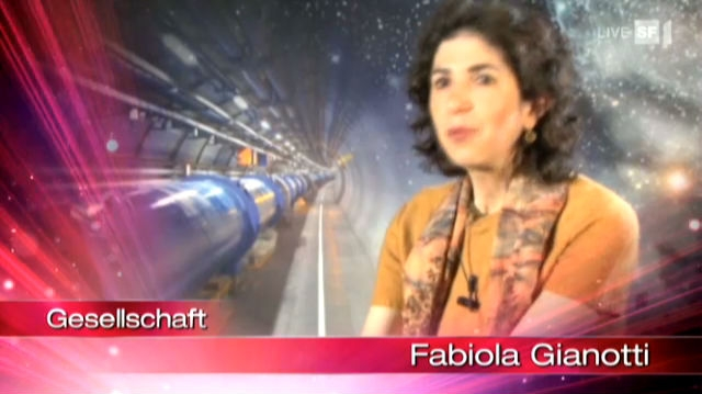 Nomination Fabiola Gianotti