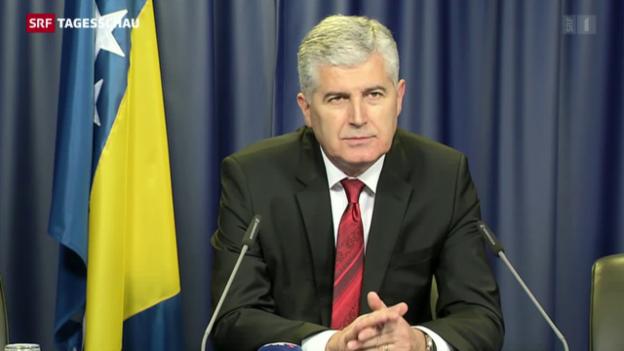 Video «Bosnien auf dem langen Weg in die EU» abspielen