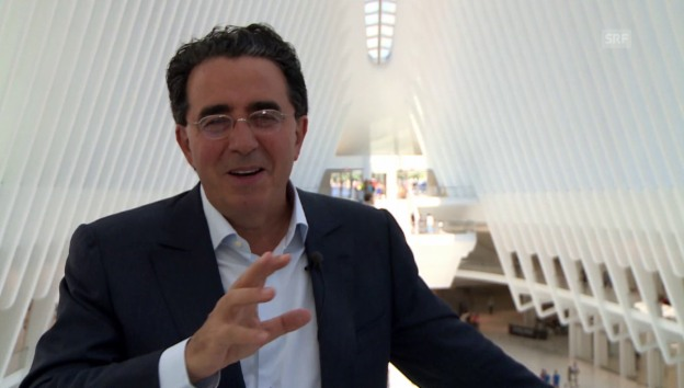 Video «Starachitekt in New York: Santiago Calatrava» abspielen