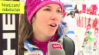 Video «Ski: Slalom Santa Caterina, Interview Wendy Holdener» abspielen