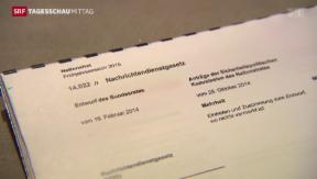 Video «Neues Nachrichtendienstgesetz » abspielen