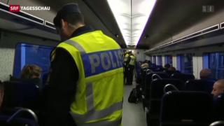 Video «Schweden führt für vorübergehend wieder Grenzkontrollen ein» abspielen