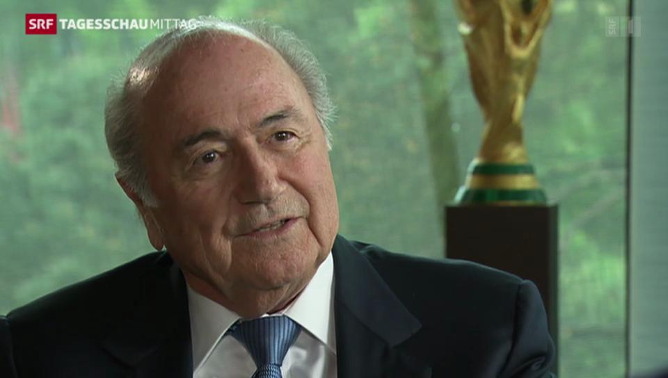 Blatter bezeichnet WM in Katar als Fehler