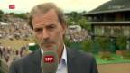 Video «Das meint Heinz Günthardt zu Federers Triumph» abspielen