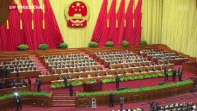 Video «Chinas Wirtschaftsmotor stockt» abspielen