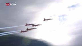 Video «Spektakel mit Risiko: Wie gefährlich sind Flugshows?» abspielen
