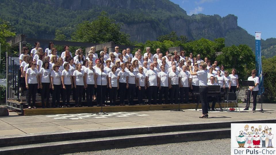 «Puls vor Ort» beim Gesangfest Meiringen