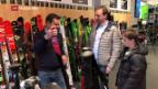 Video «Wintersportartikel sind gefragt» abspielen