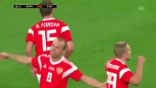 Video «Russland erkämpft sich Remis gegen Spanien» abspielen