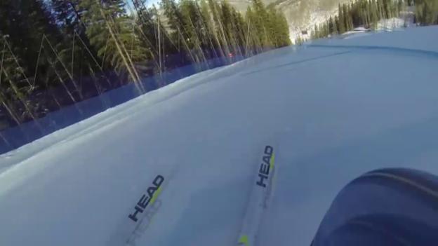 Video «Ski: Abfahrtspiste «Raptor» in Beaver Creek, Kamerafahrt» abspielen