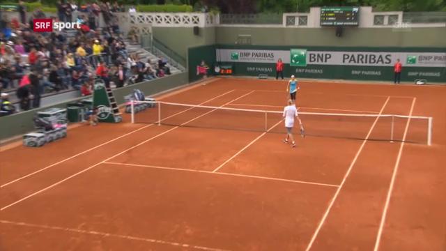French Open: Vögele - Kanepi («sportaktuell»)