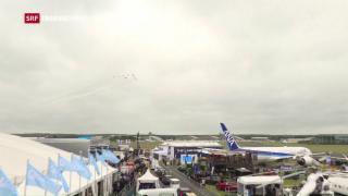 Video «Rosige Aussichten für die Flugzeugindustrie» abspielen