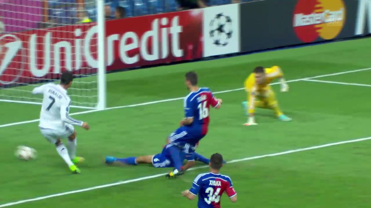 Fussball: Basel verliert bei Real 1:5