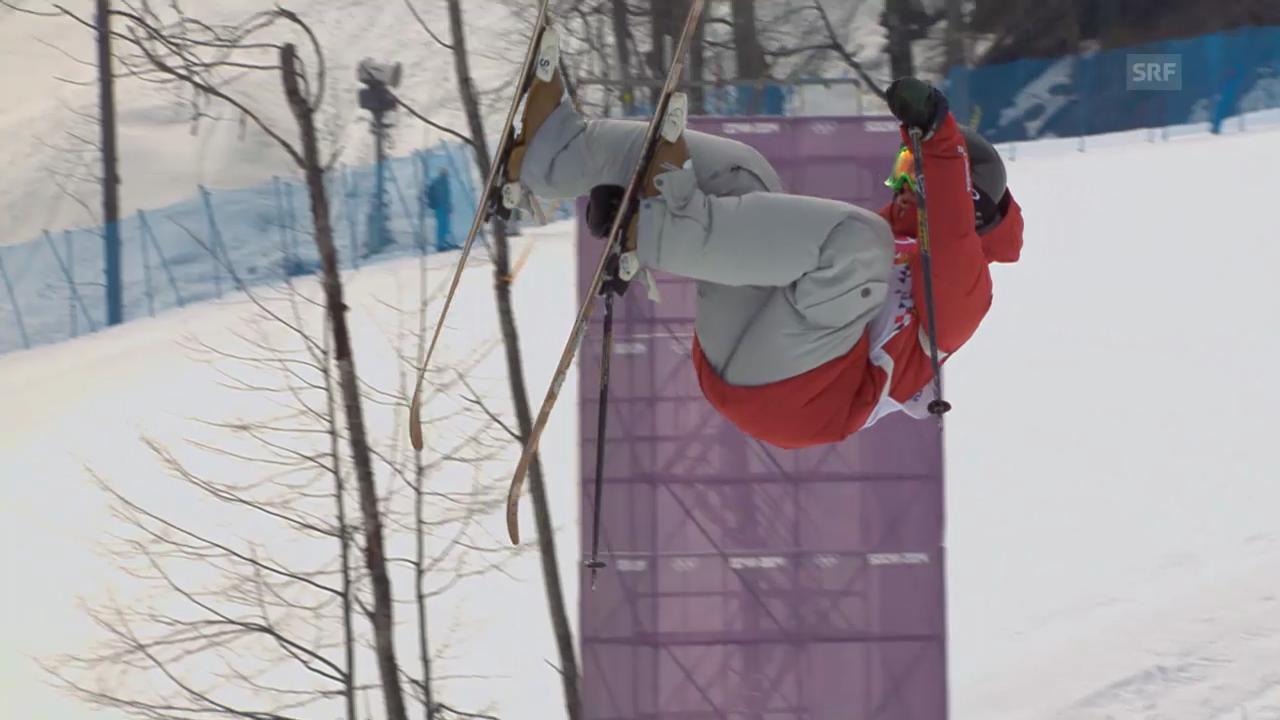 Freestyle Ski: Slopestyle Frauen, 2. Final-Run Kim Lamarre (sotschi direkt, 11.02.2014)