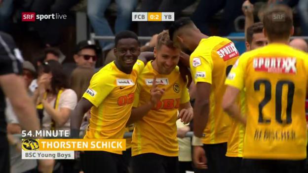 Video «YB gewinnt Berner Derby gegen Breitenrain» abspielen