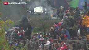 Video «EU-Parlament berät zu Flüchtlingsproblematik» abspielen